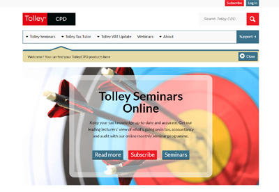 Tolley Continuous Professional Development